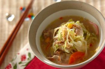 ちゃんぽん風素麺