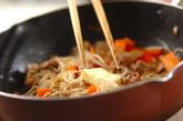 豚肉とモヤシのガーリックしょうゆ炒めの作り方3