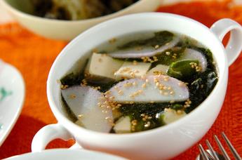 カマボコの中華スープ