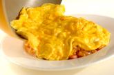 とろとろ卵のウインナーオムライスの作り方3