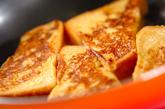 オレンジ風味のフレンチトーストの作り方3