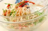 サッパリ素麺サラダの作り方3