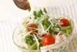 そばサラダの作り方2