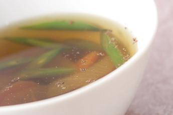 野菜の和風スープ