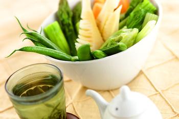 温野菜オイスターソース