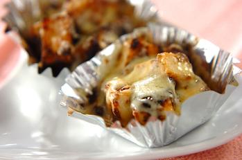 厚揚げとのりのチーズ焼き