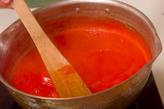 コロコロ西瓜カンの作り方1