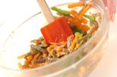 ニンジンのゴマ酢和えの作り方2