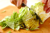 春キャベツと豚肉の塩パイの作り方1
