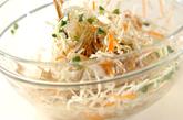 鶏肉ソテーとキャベツのソース和えの作り方3