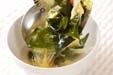 セロリと卵のスープの作り方3