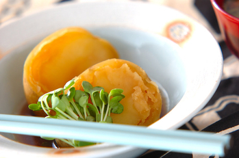 ジャガイモのほっくり煮