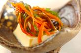 卵豆腐の野菜あんかけの作り方3
