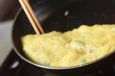 帆立オムレツ丼の作り方4