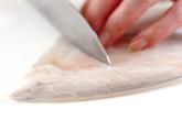 イカの七味炒めの作り方1