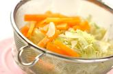 ゆで豚と野菜のサラダ仕立ての作り方1