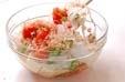 トマトと豆腐のサラダの作り方1