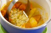 カボチャ入りポテトサラダの作り方2