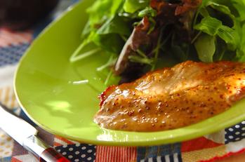 豚肉ソテークリームソース