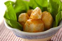 里芋のカマンベール和え