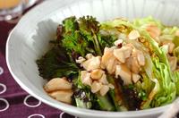 焼き野菜の豆腐あんかけ