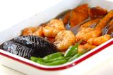エビと夏野菜の揚げ南蛮の作り方3