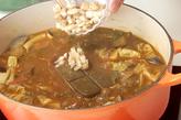 肉団子入り野菜カレーの作り方6