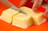 卵豆腐のお吸い物の下準備1