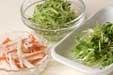 春雨の梅風味サラダの下準備3