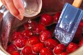 イチゴのプリザーブの作り方3