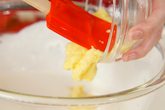 季節のフレッシュフルーツロールケーキの作り方7