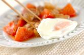 鶏とトマトの黒コショウ炒めの作り方2
