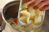塩鮭の酒粕煮の作り方2