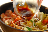 イカのソース炒めの作り方3