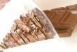 ホットチョコレートの下準備1