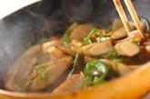 ゴボウと板コンの炒め煮の作り方2