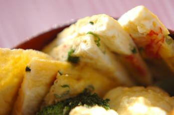 カニ風味卵焼き