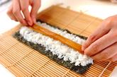 スマイル巻き寿司の作り方3