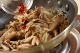 キノコの甘酢和えの作り方1