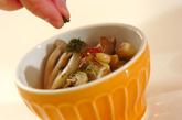 キノコの甘酢和えの作り方2