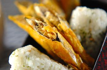 シシャモのカレー天ぷら