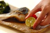 スズキの塩焼き・酢の物添えの作り方2