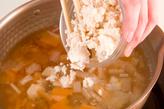 塩鮭の粕汁の作り方2