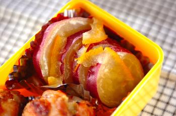 サツマイモママレード煮