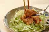 ネギしょうゆ揚げ鶏の作り方3