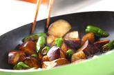 ナスのウスターソース炒めの作り方2