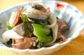 ラム肉の塩コショウ炒め
