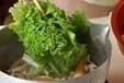 青菜の煮びたしの作り方2