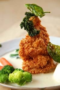 チキン・ホワイトソース