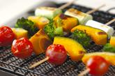 串焼き野菜の作り方1